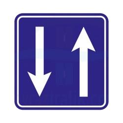 Gidiş Geliş Yön İşareti Trafik Levhası | PT-108-E