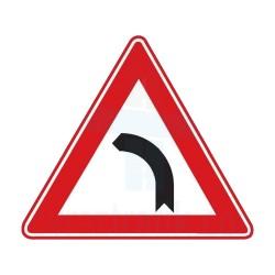 Sola Dönüş Yön İşareti Trafik Levhası | PT-108-I