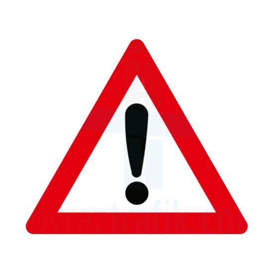 Dikkat İşareti Trafik Levhası