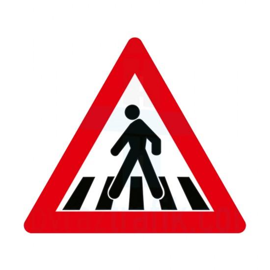 Yaya Geçiş İşareti Trafik Levhası